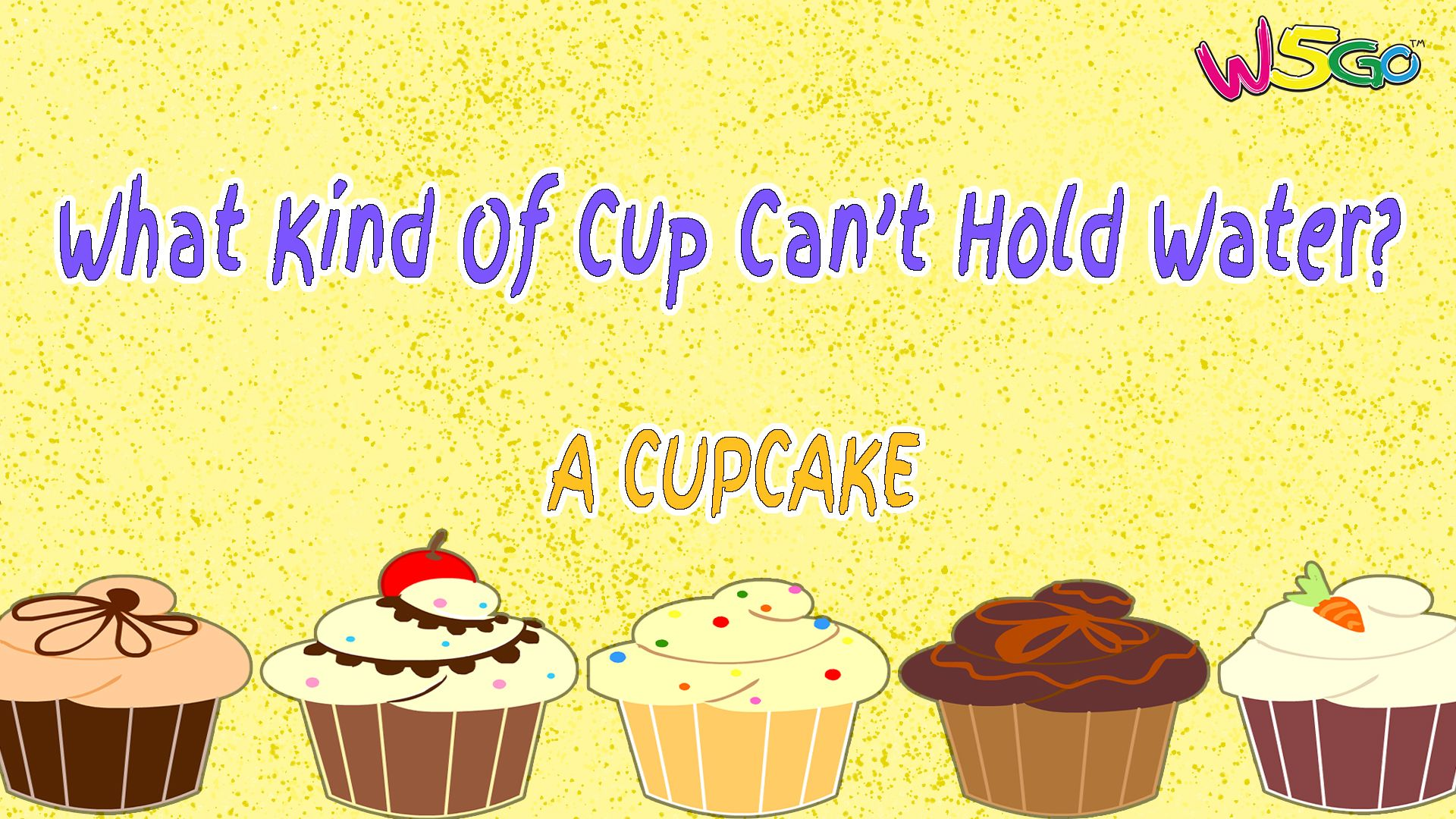 Can you solve this riddle? What kind of cup can't hold