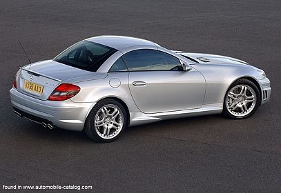2006 Mercedes Benz Amg Slk R171 Serie 1 All Versions Specs And