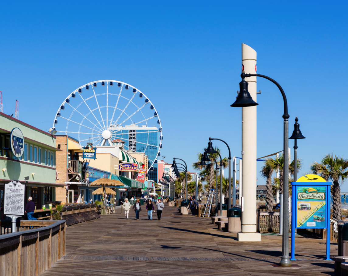 Myrtle Beach Is A Kid Friendly Town With Sense Of Fun