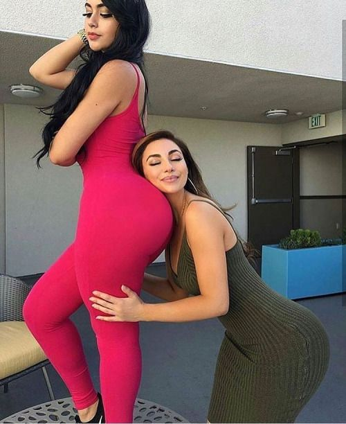 Young girls showing assholes ass worship