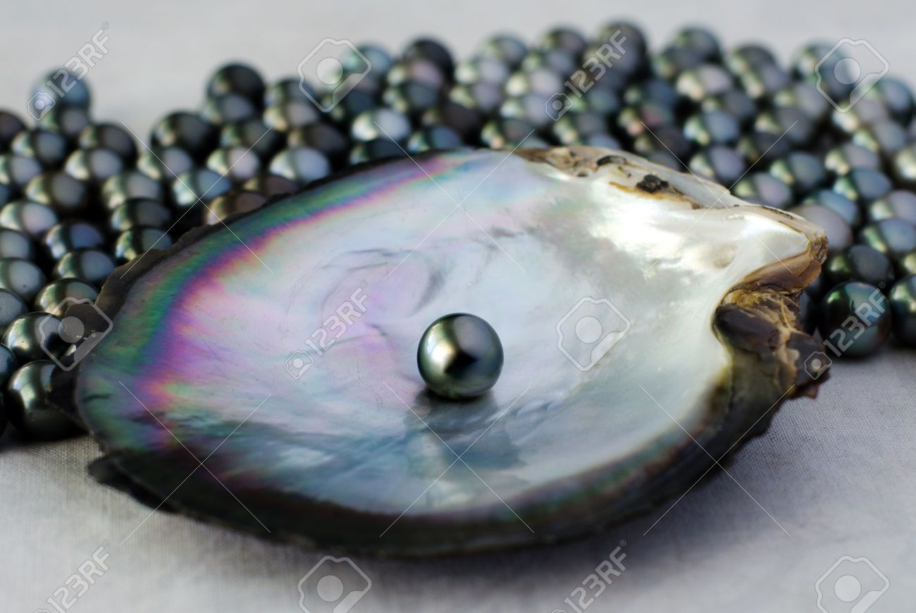 What necessary black oyster pearl think