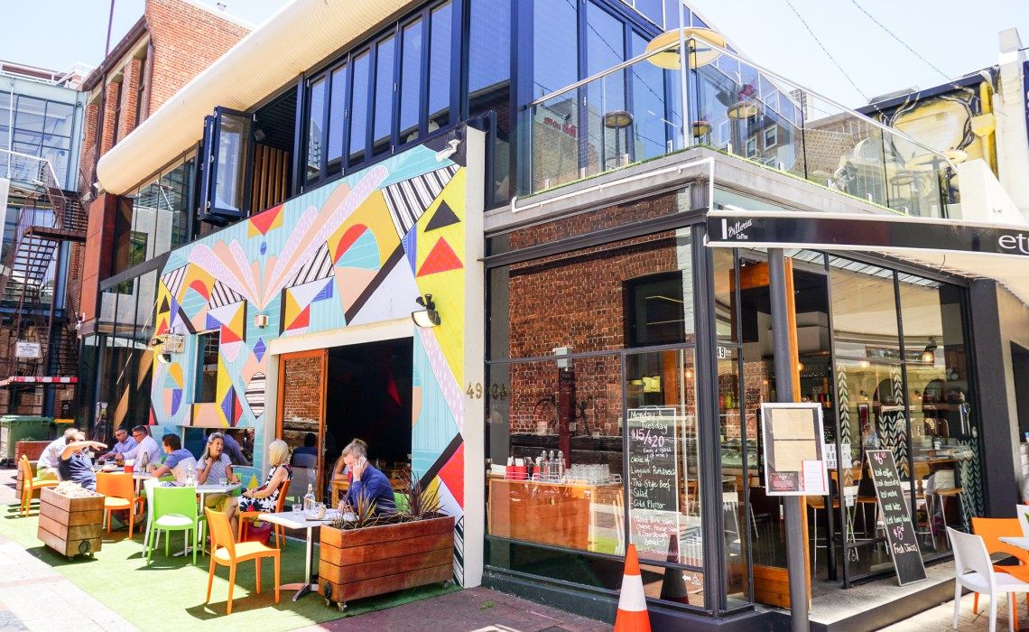 Kaffee und Kunst in den Straßen von Perth – eine tolle Stadt