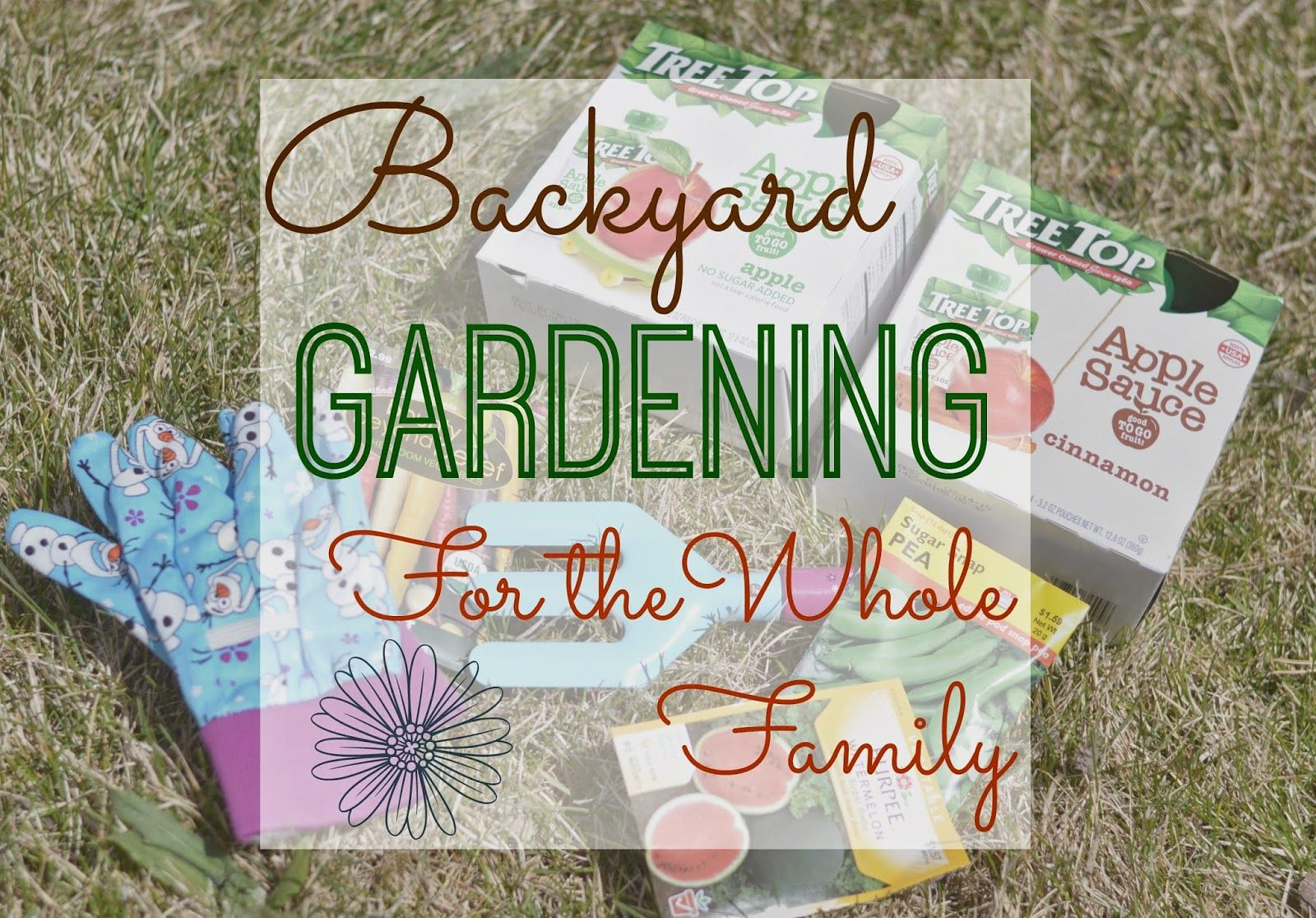 Backyard Gardening For The Whole Family.  Montessori Gardening Tips.  Gardening with kids.  Family Garden.  #RaisingGoodApples AD http://bit.ly/1CP6h1m