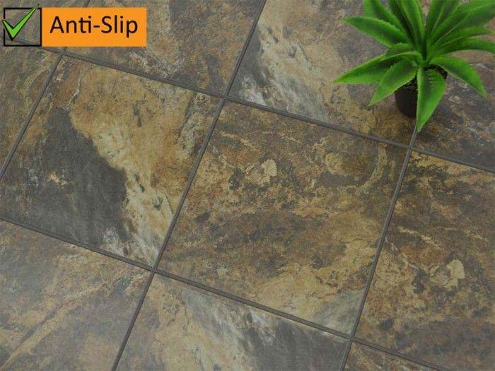 Kilimanjaro Maun Lodge Slip Resistant Floor Tile Ctm Tile Floor Garden Tiles Outdoor Tiles