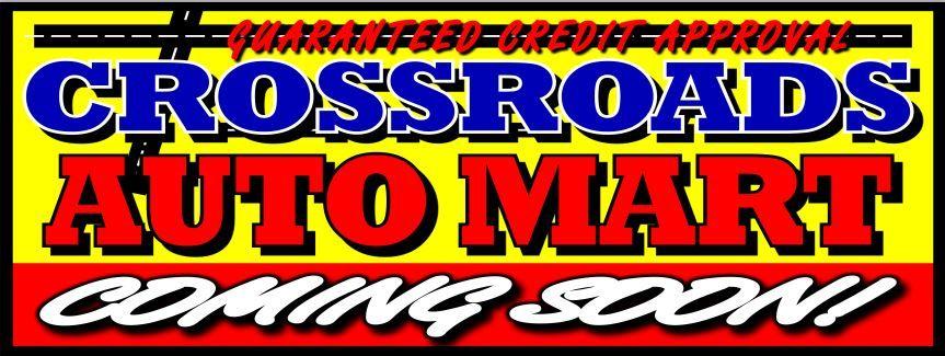 Crossroads Auto Mart Banner 2921   sign11.com