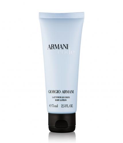 armani code lait pour le corps