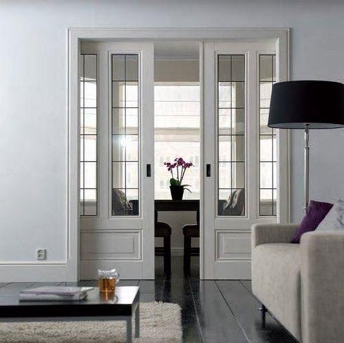 On My Mind Design Details Pocket Doors Entrance Into Study Or Library