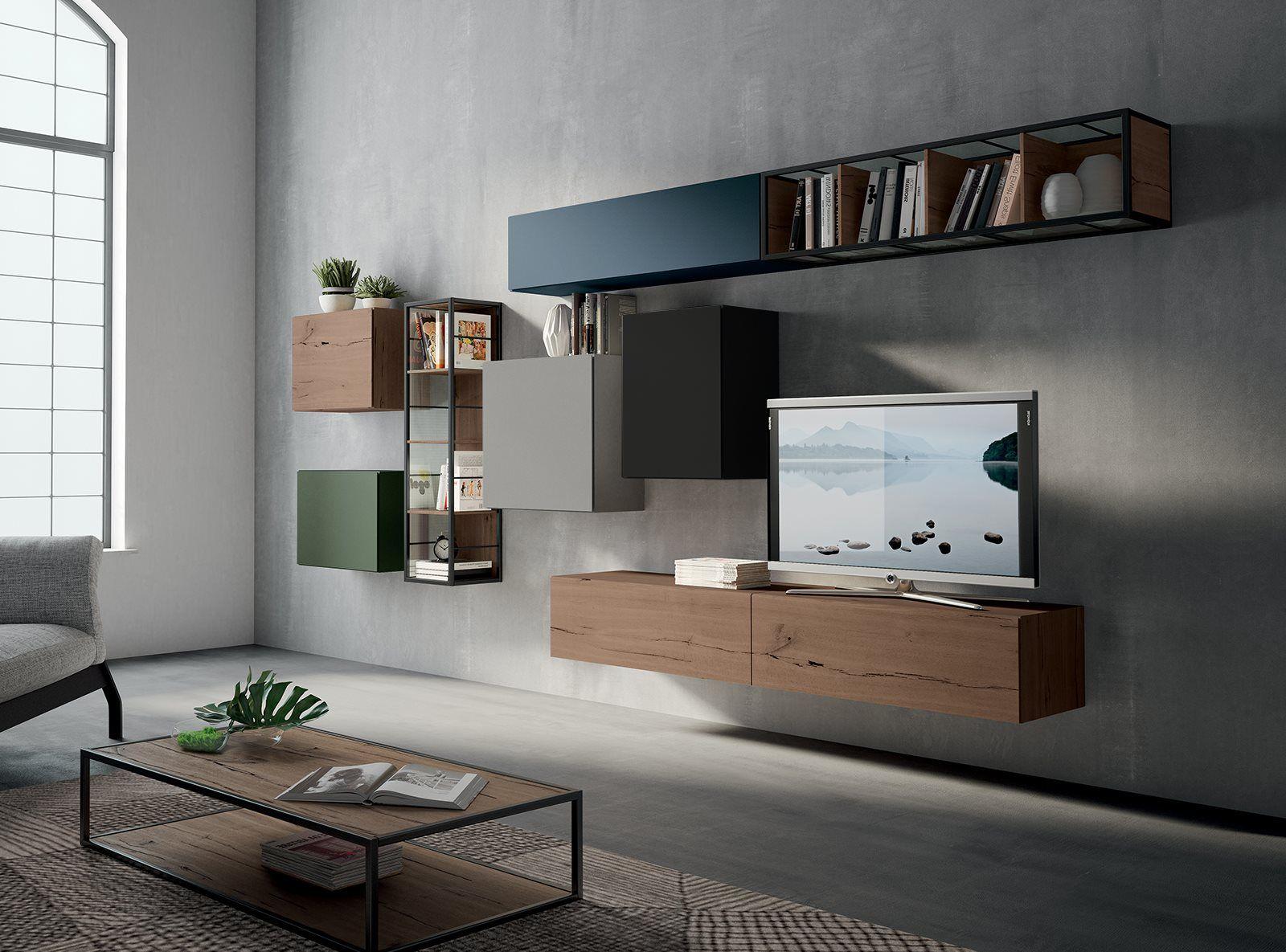 soggiorno dalle linee particolari by fimar mobili nel 2019