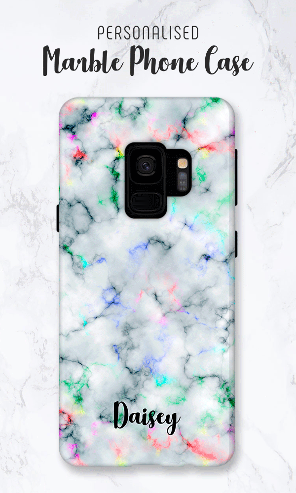 separation shoes 887b0 22975 Samsung Galaxy S10 Case, Galaxy S10e Case, Rainbow Marble Print ...
