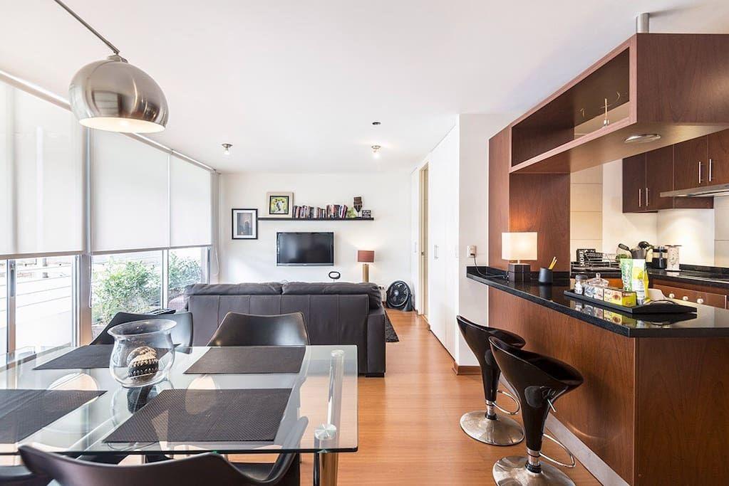 Échale un vistazo a este increíble alojamiento de Airbnb: Modern Apartment 1 in Barranco - Departamentos en alquiler en Lima