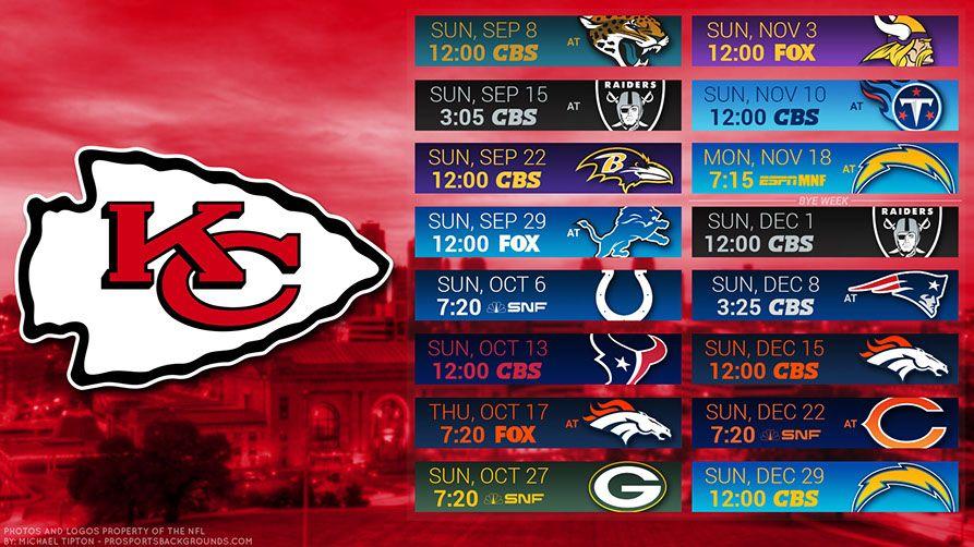 Kansas City Chiefs 2019 Desktop Pc City Nfl Schedule Wallpaper Kansas City Chiefs Chiefs Wallpaper Kansas City