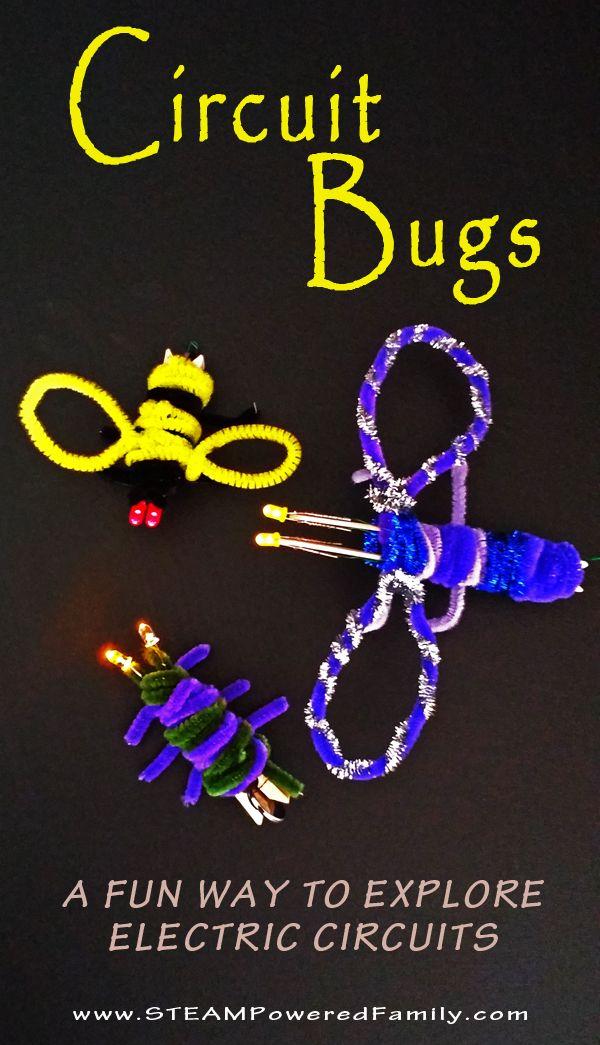 Circuit Bugs A Super Cute Craft For Kids