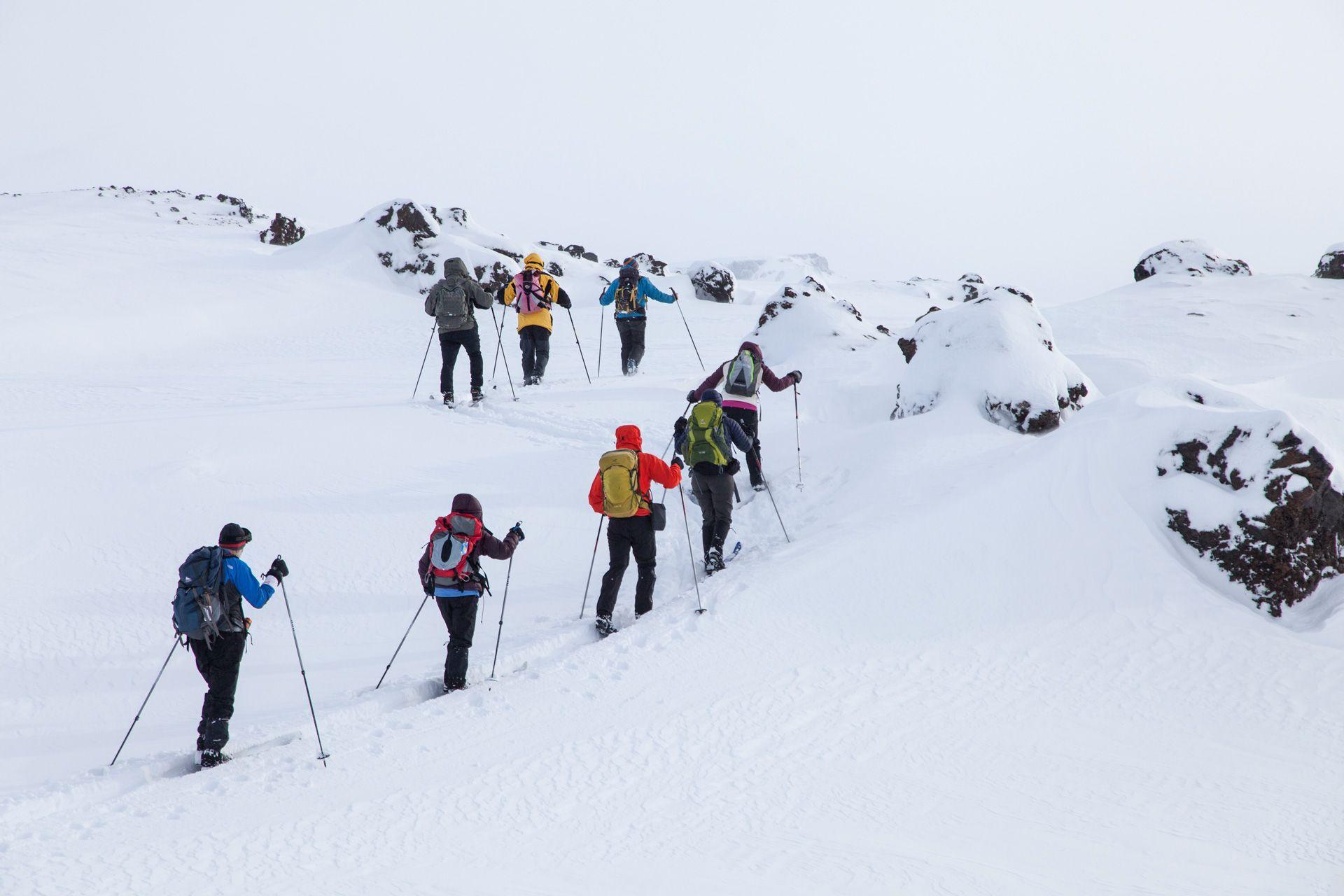 Landmannalaugar Cross Country Skiing Tour Icelandic