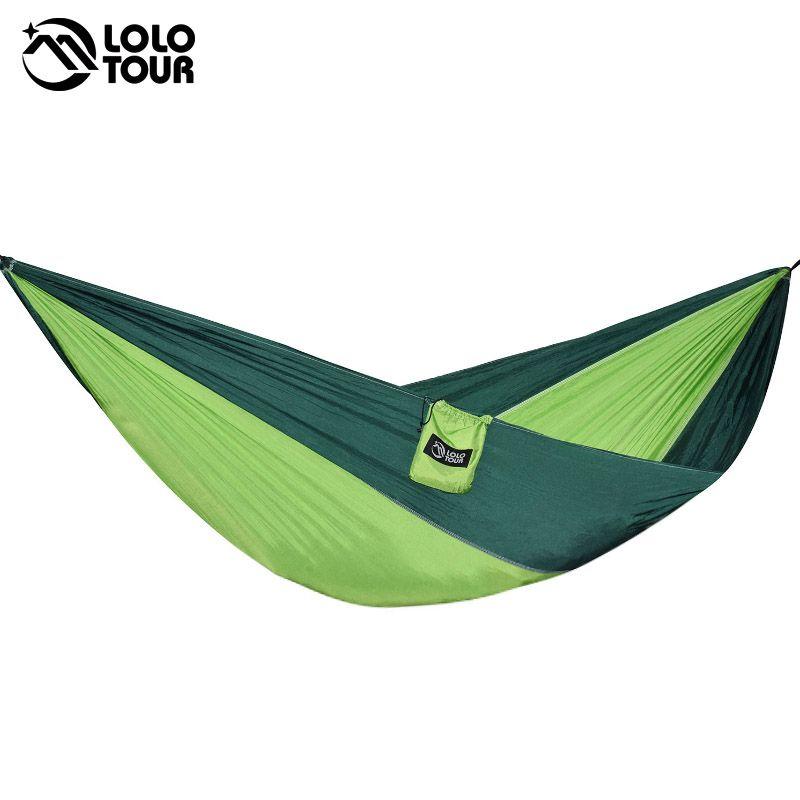 Kaufen Im Freien Tragbare Camping Fallschirm Schlafen Double