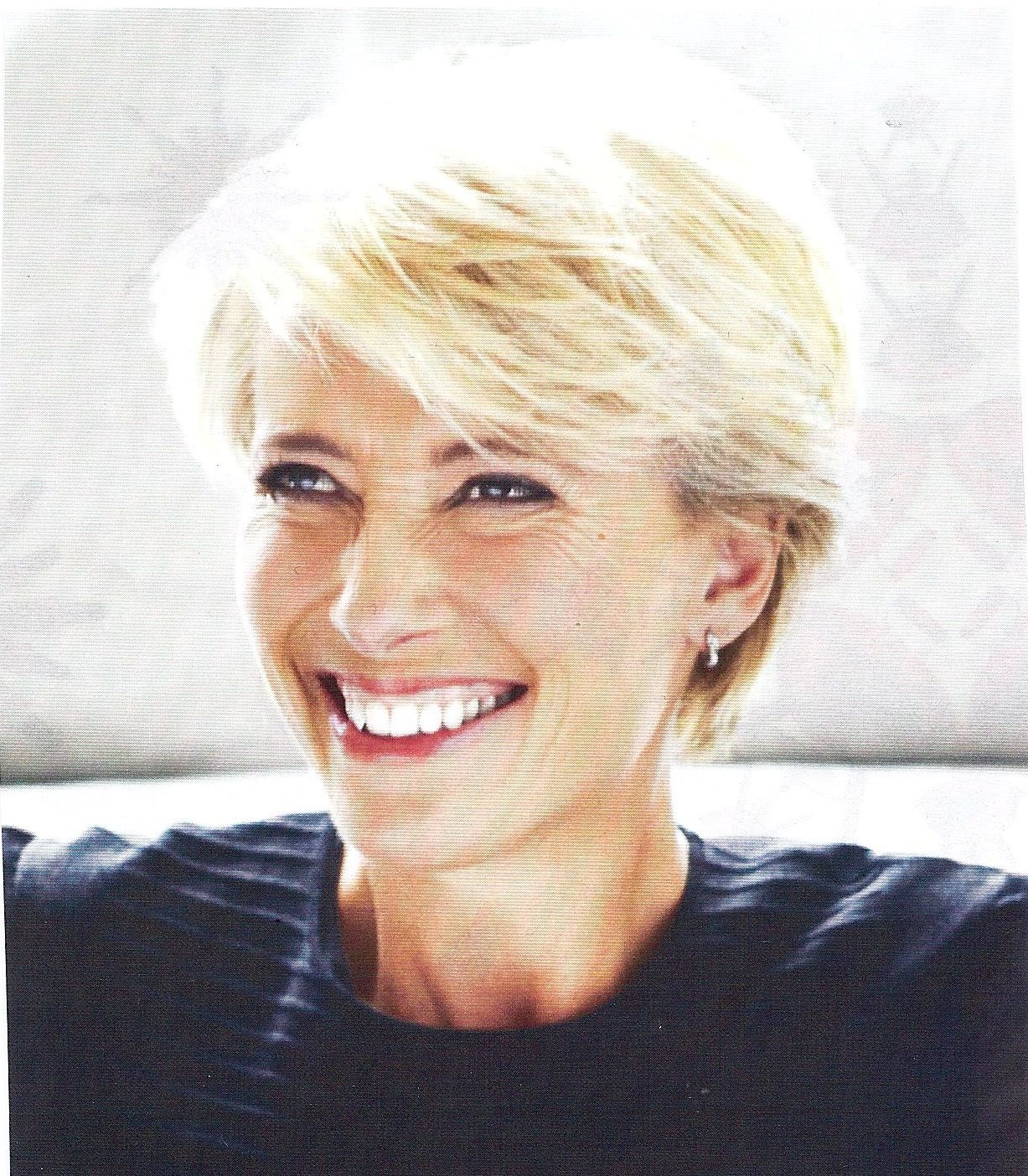 Emma Thompson  Short hair styles, Hair styles for women over 12