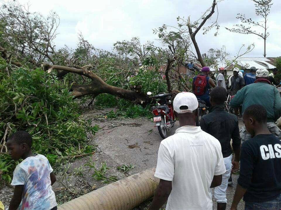 Haití después del azote del huracán matthew