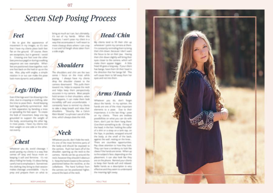 Body Language PDF Posing Guide + Video