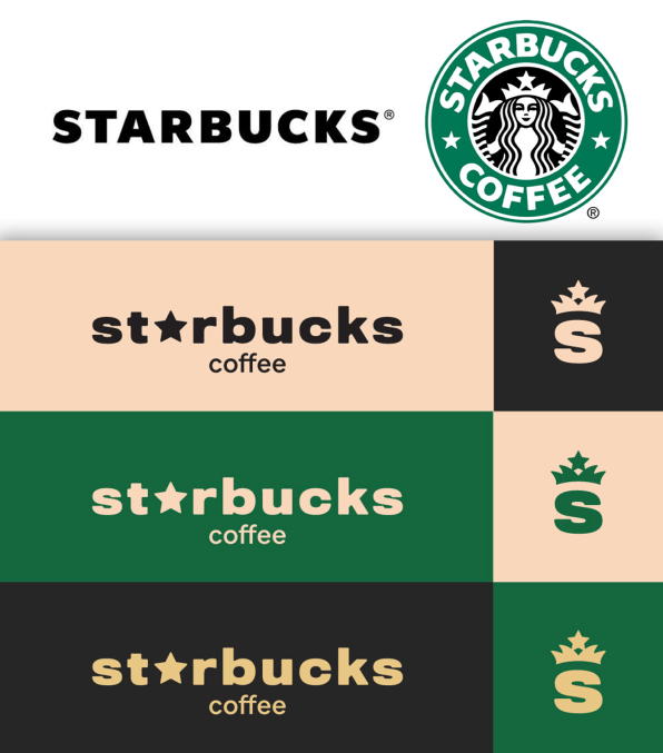 Starbucks Coffee Bean And Folgers Logos Get A Makeover Coffee Graphics Starbucks Coffee Graphics Design