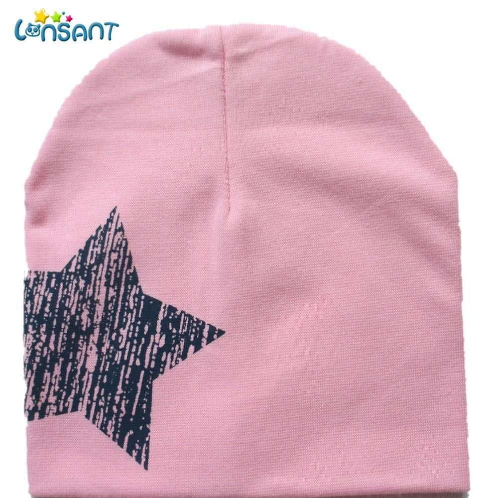 Autumn Winter Boy Girl Baby Toddler Kids Cotton Stars Soft Hat Beanie Cap New