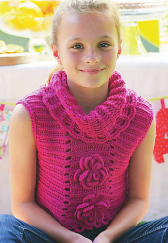 Love this #crochet capelet from Crocheting Clothes Kids Love by @Ellen GoCrochet Gormley and @Shelby Allaho