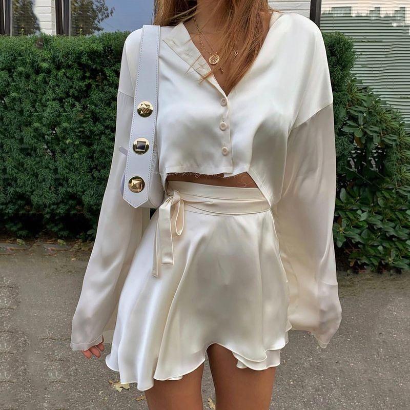 Milan Set - White / S