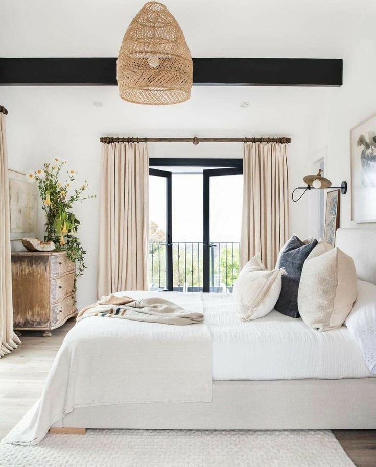 Beautiful Bedroom Home In 2019 Airy Bedroom Home Decor