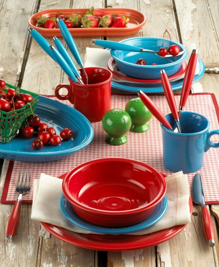 Turquoise and red is my favorite color combination of, like, all ...