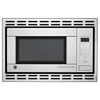 Stainless Steel Built In Cu Microwave Oven Must Be Order With Trim Kit