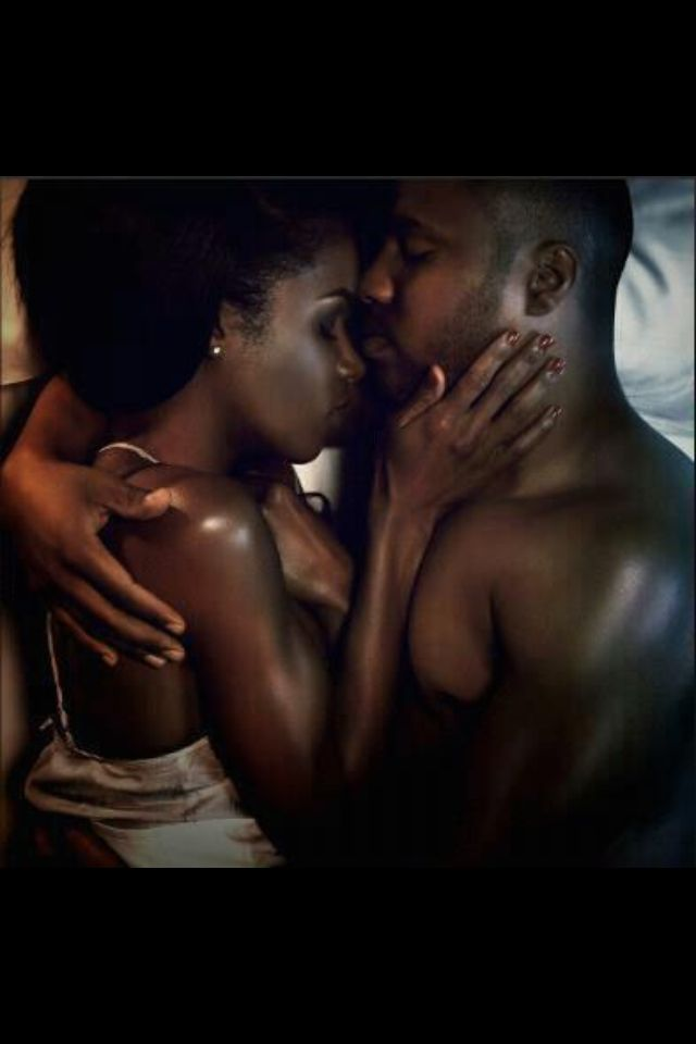 Black Married Couples Making Love