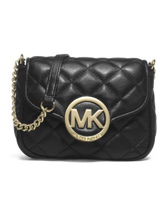 2043f5806f16 Small Fulton Quilted Crossbody by MICHAEL Michael Kors at Neiman Marcus.