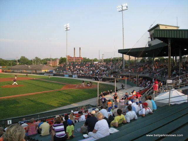 Hagerstown Municipal Stadium Hagerstown Suns Ballparks Minor League Baseball Stadium
