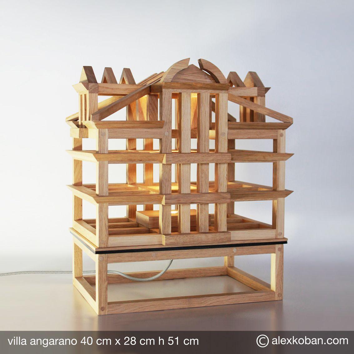 lampada villa angarano da tavola