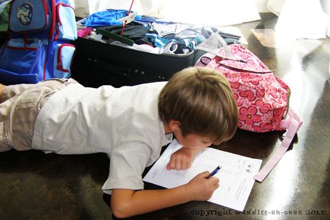 Hassle Free Travel with Children: FREE printable packing list for children