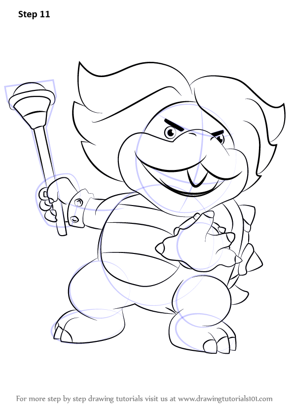 Koopalings Coloring Pages : koopalings, coloring, pages, Learn, Ludwig, Koopa, Koopalings, (Koopalings), Drawing, Tutorials, Coloring, Pages,, Drawings