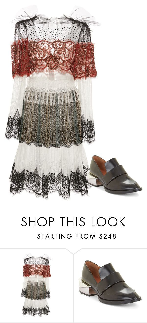 """Untitled #4834"" by metemelobiebas ❤ liked on Polyvore featuring Rodarte and BCBGMAXAZRIA"