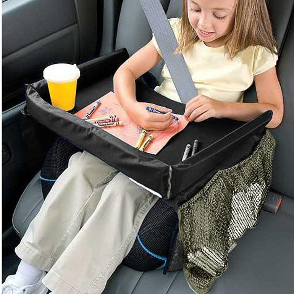 Car Child Safety Seat Kids Snack Play Travel Tray Drawing Board