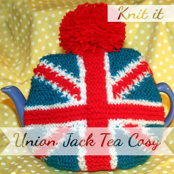 Knit yourself a union jack tea cosy | Catharsis. | Pinterest