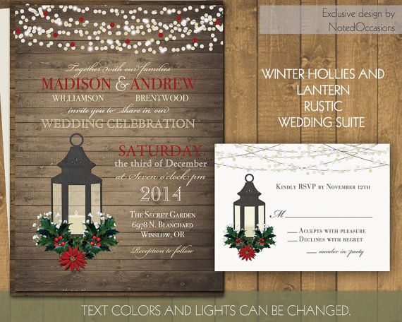 Barn Wedding Invitation Kits