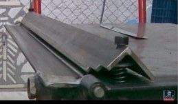 Sheet Metal Bender Brake The Make Diy First Use Stainless Steel Bbq Sheet Metal Bender Metal Bender Sheet Metal