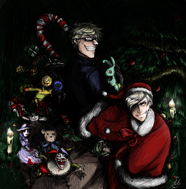 Making Christmas by maivalkov.deviantart.com on @DeviantArt---> This is beautiful