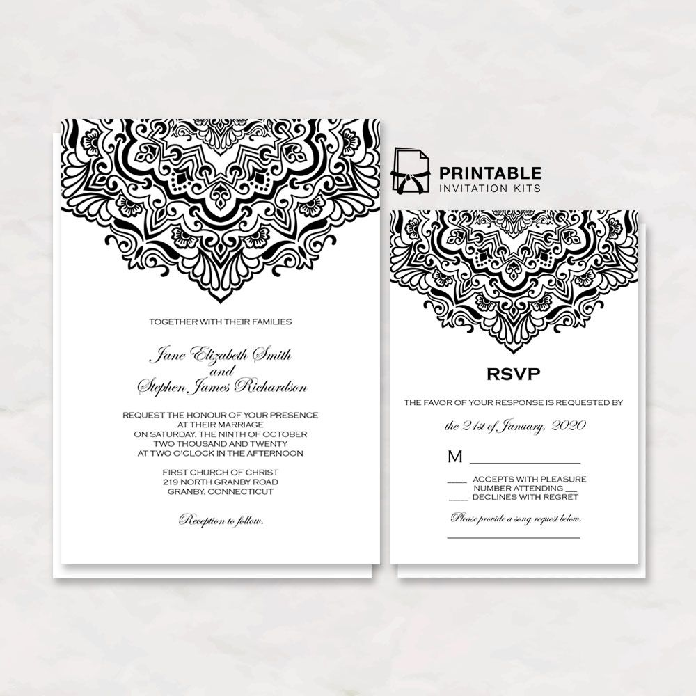 Free To Download Wedding Invitations Vintage Ornamental Border In 2019 Blank Wedding Invitation Templates Wedding Invitations Wedding Invitation Templates