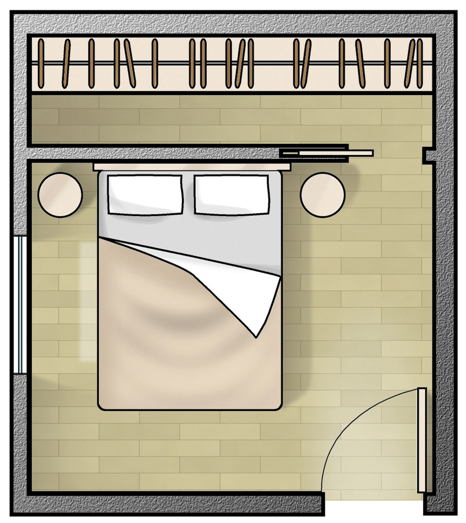 Spazio Minimo Cabina Armadio.Cabina Armadio Camera Piccola Cosedicasa Arredamento D