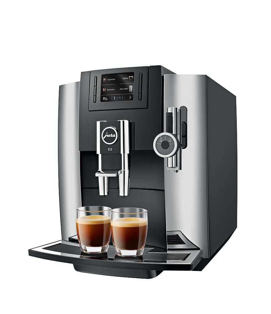 Jura E8 Chrome Coffee Maker & Espresso Machine #juracoffeemachine