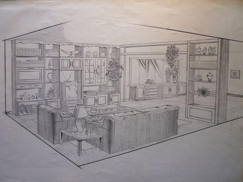 Drawing furniture 1989