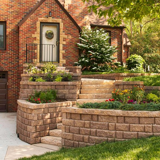 Easy Retaining Wall Ideas: 22 Simple Ways To Boost Your Curb Appeal