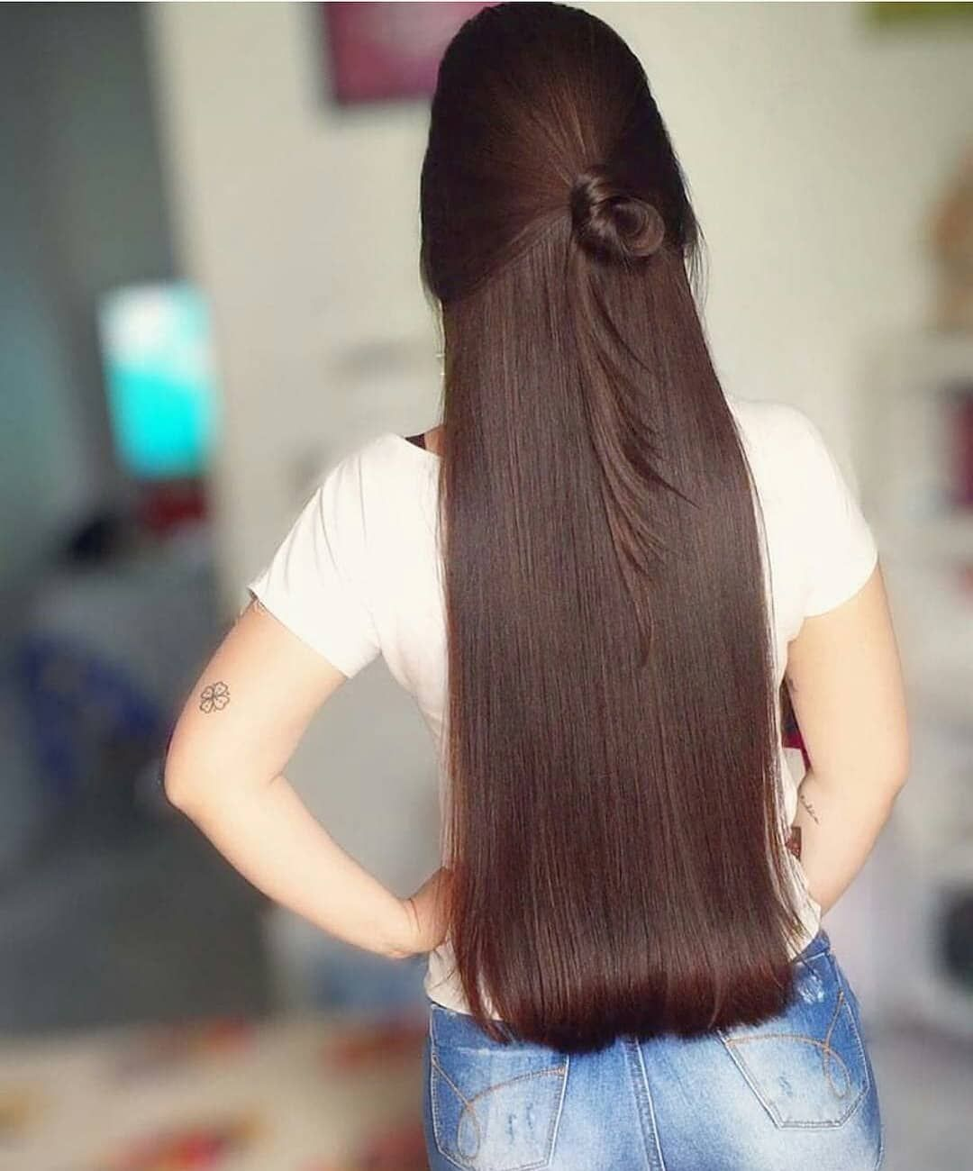 Pin On Beautiful Long Straight Brown Hair