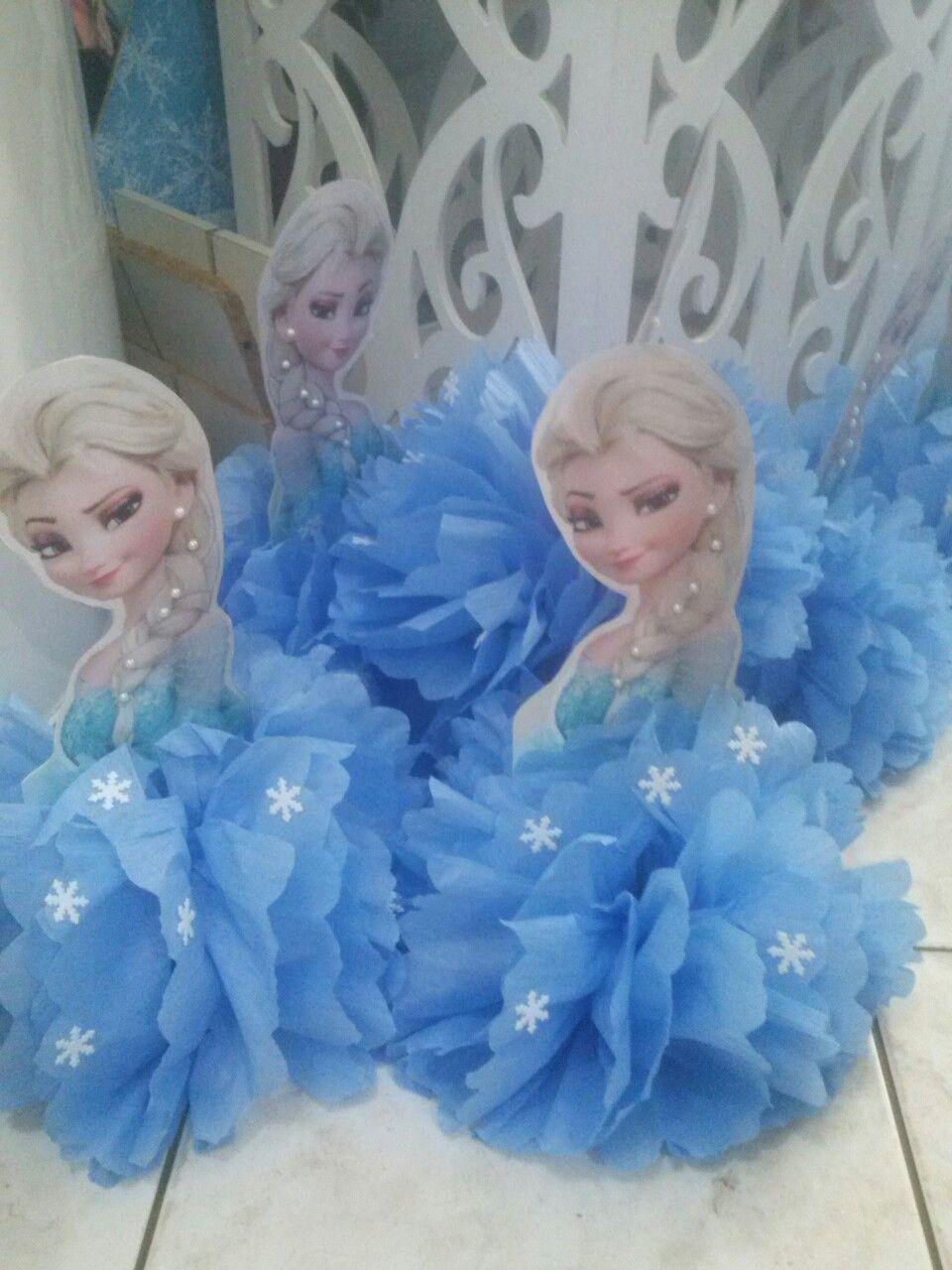 Lembrançinha de mesa Frozen