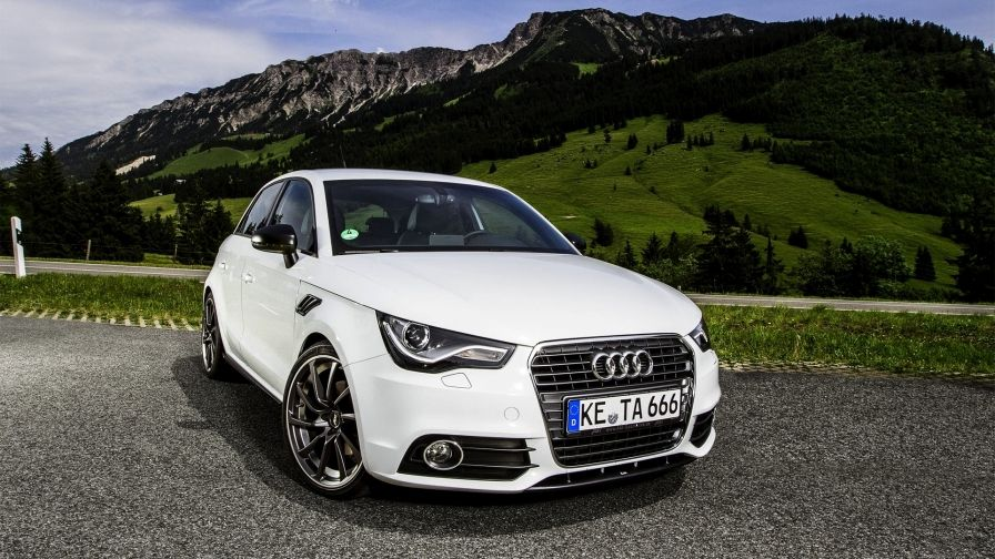 Large Size Audi Wallpaper White Color 4 Seated Audi A1 Sportback Audi A1 Audi
