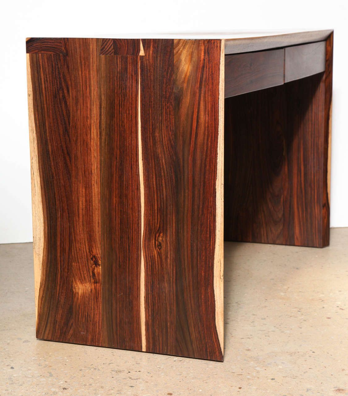 Craft Revival hand crafted Cocobolo Wood Desk   Cocobolo   Pinterest     Craft Revival Cocobolo Desk   From a unique collection of antique and  modern desks and writing tables at