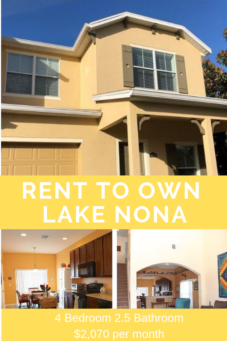 Rent-to-own homes Orlando | Rent-to-own home Lake Nona ...